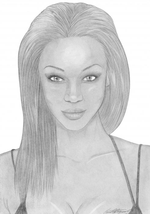 Tyra Banks por CamillaStougaard